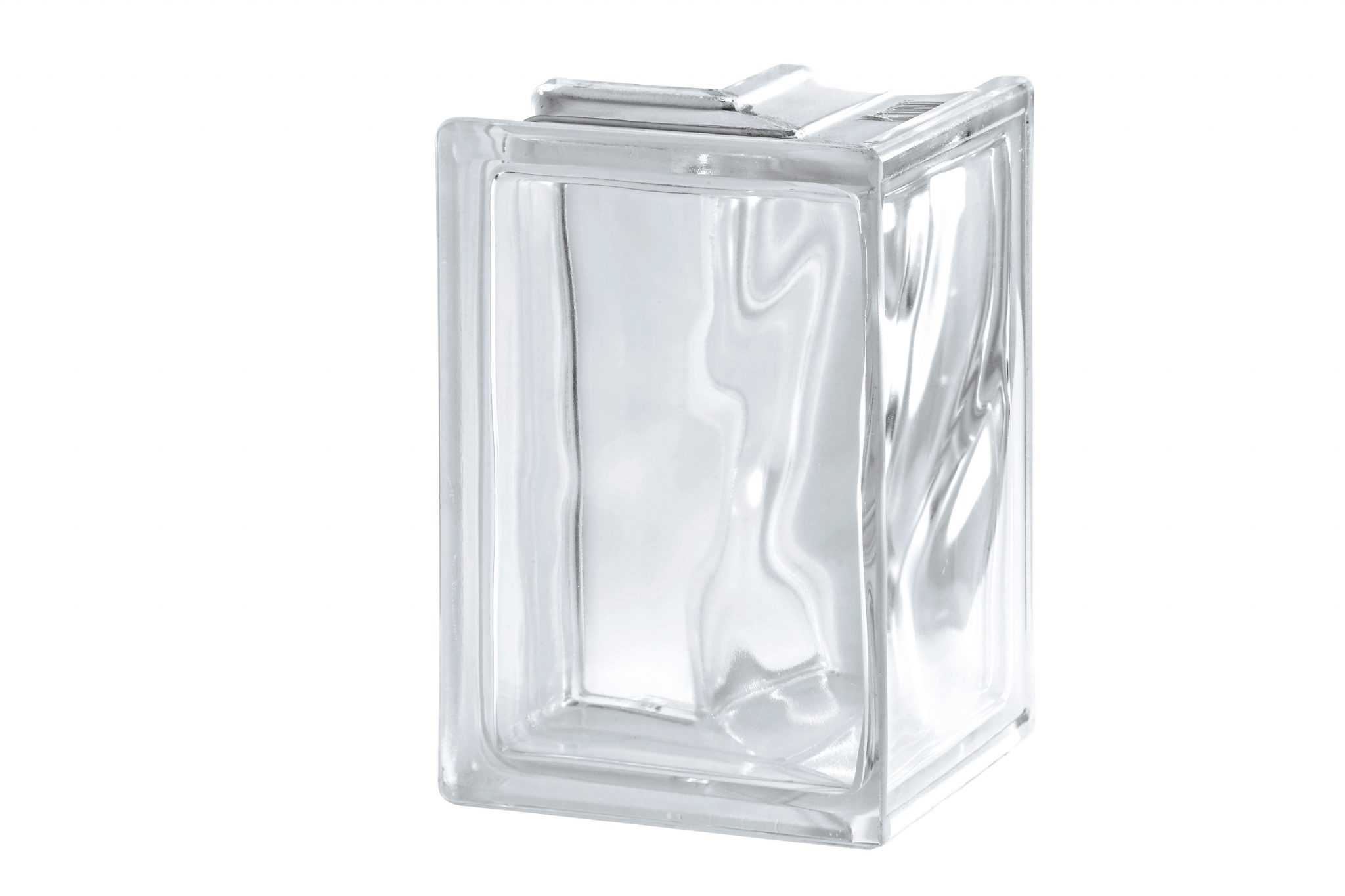 Clear Wave Corner 90 Degree Glass Blocks Glass Block