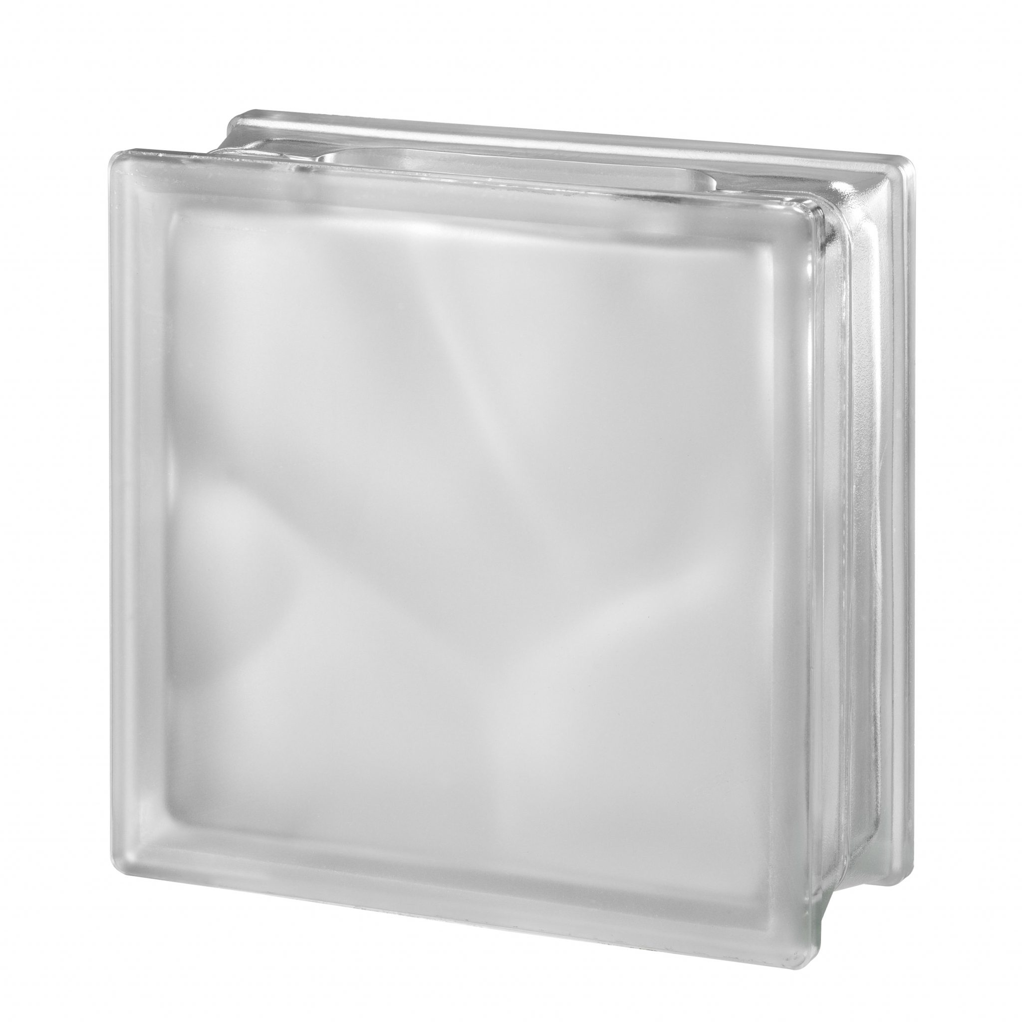 clear wave craft block satin finish glass blocks glass On clear glass blocks for crafts